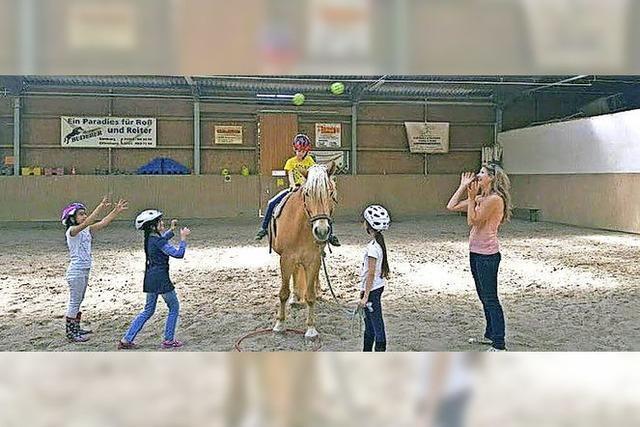 Lernen auf dem Pferderücken