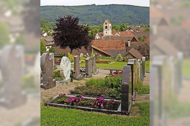 Rat debattiert Friedhofsgebühren