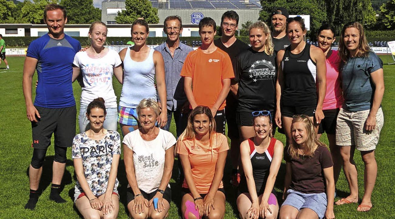 Die erfolgreiche Lenzkircher Delegation beim Turnfest in Weinheim  | Foto: Heiler