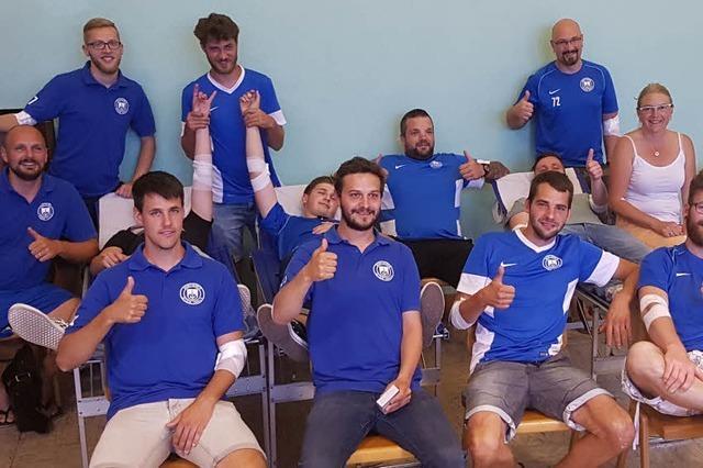 SV Istein tritt mit Mannschaft zum Blutspenden an