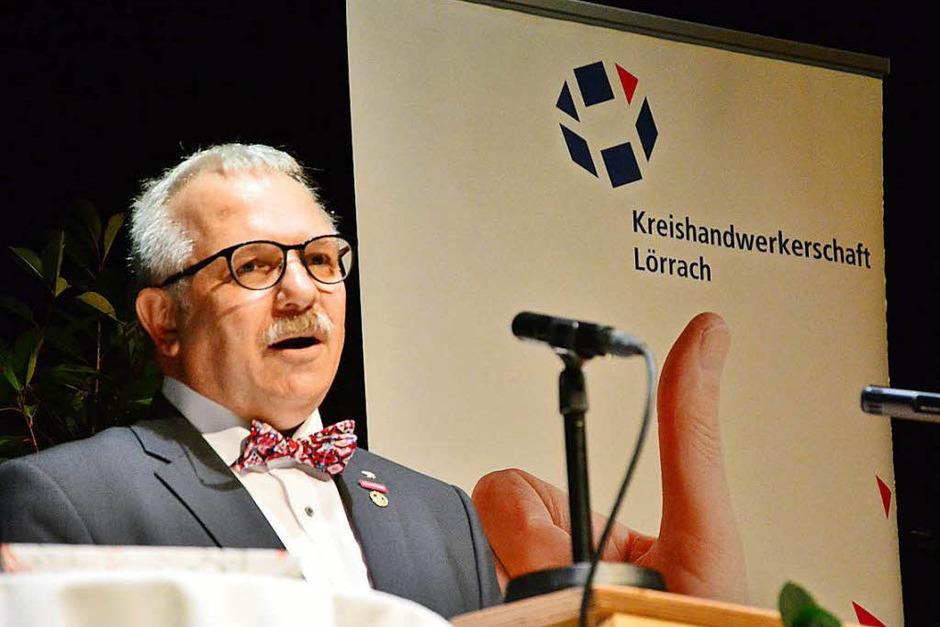 Kreishandwerksmeister Michael Schwab (Foto: Barbara Ruda)