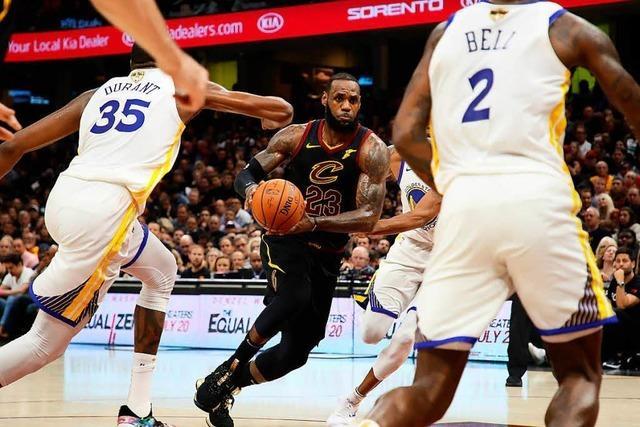 Golden State Warriors gewinnen auch viertes Spiel der Finals und holen den NBA-Titel