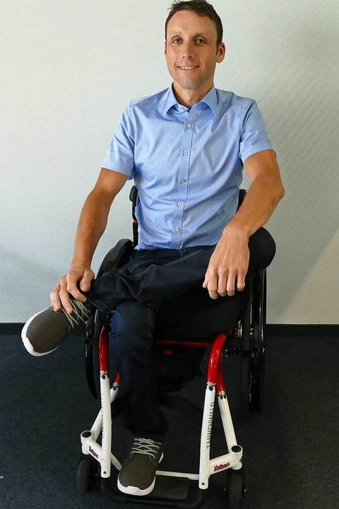 Mitten im Leben: Benjamin Rudiger,   Geschäftsführer des  Ultra-Bike-Marathons  | Foto: bachmann