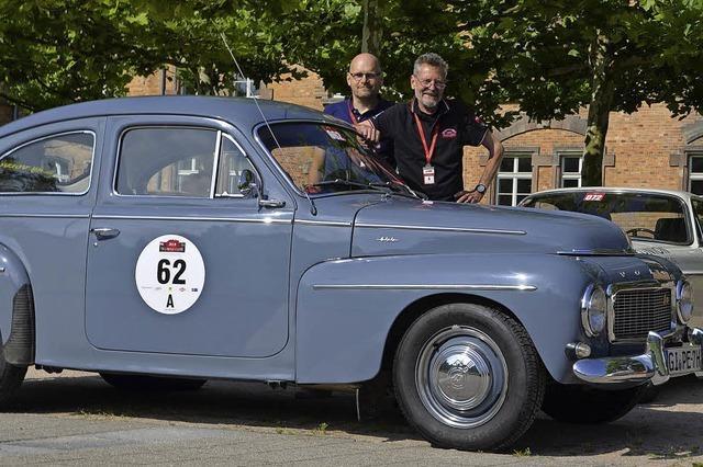 Viel Muskelkraft im Buckel-Volvo