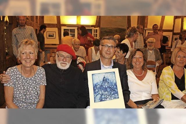 Hilmar Friedrich verschenkt Bilder