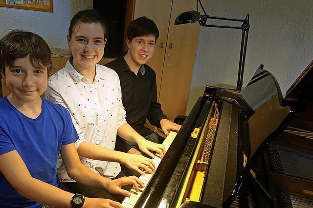 Klaviertage fürs Ohr und fürs Auge
