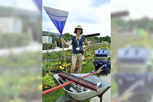 Die Gartenschau als Job-Chance