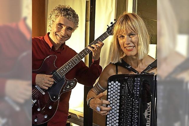 Akkordeon-Diva trifft auf Meistergitarrist