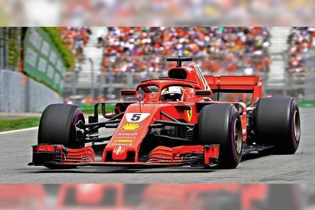 Jubiläumssieg für Sebastian Vettel