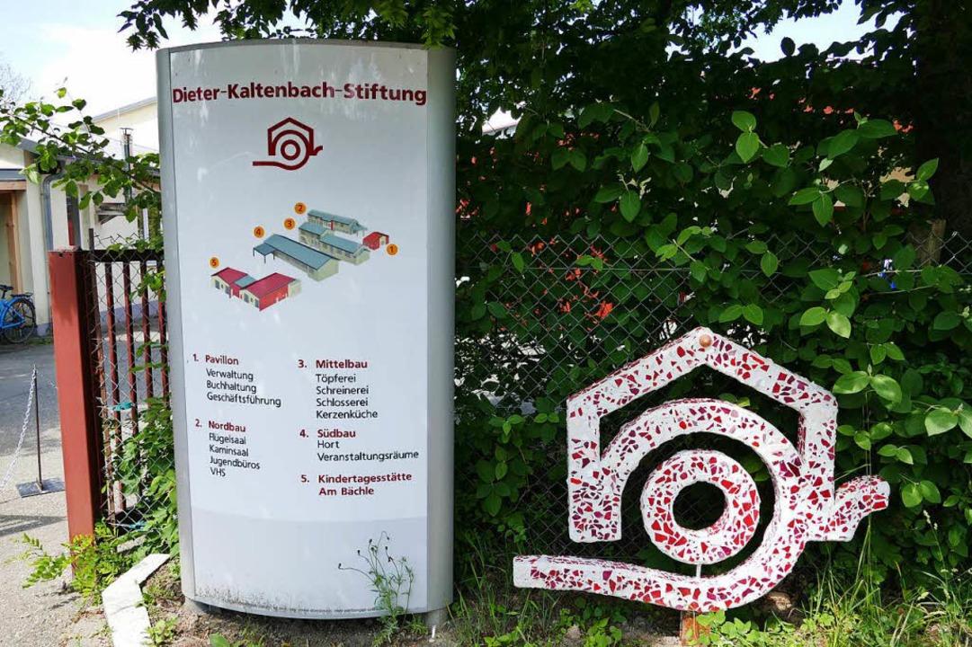 Der Stammsitz der Stiftung in Lörrach  | Foto: Lea Schnattinger