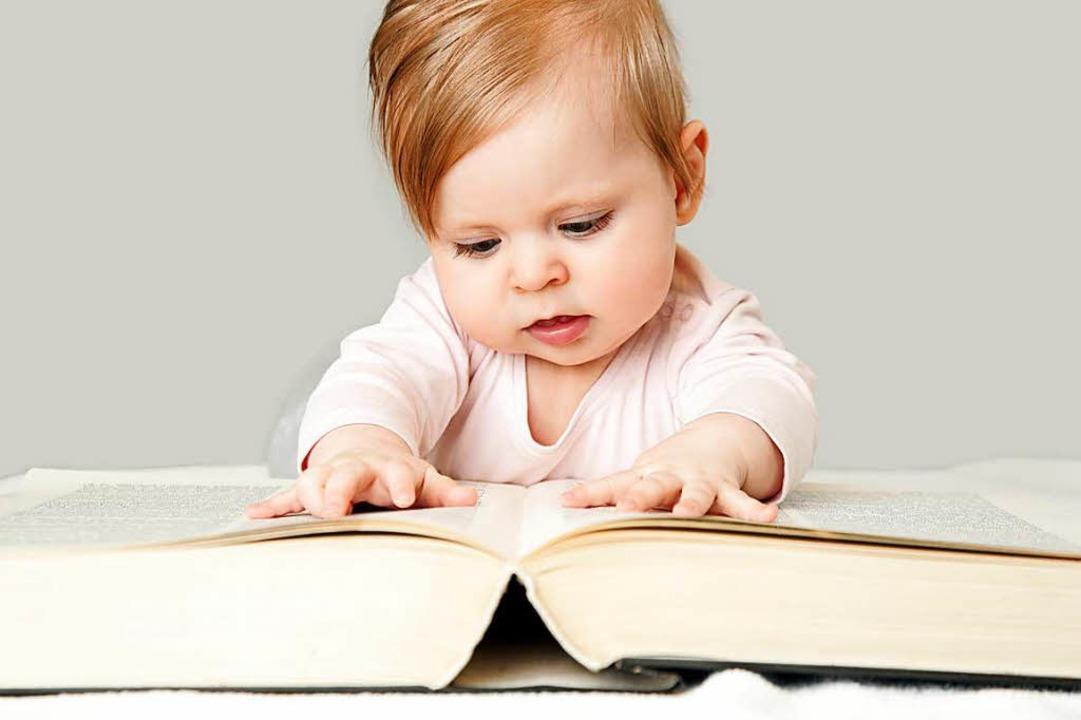 Lesen bildet. Allzu früh damit anzufangen, bringt aber nichts.  | Foto: nedza