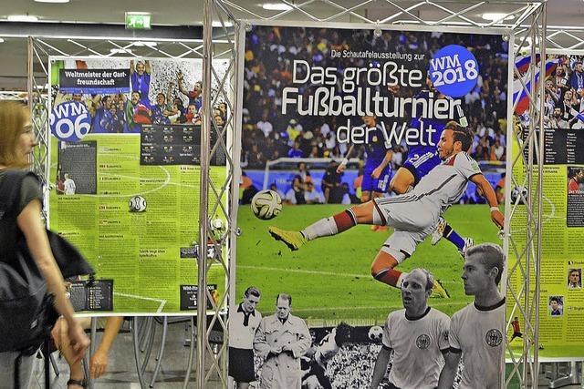 Ausstellung zur WM in der Schwarzwald-City