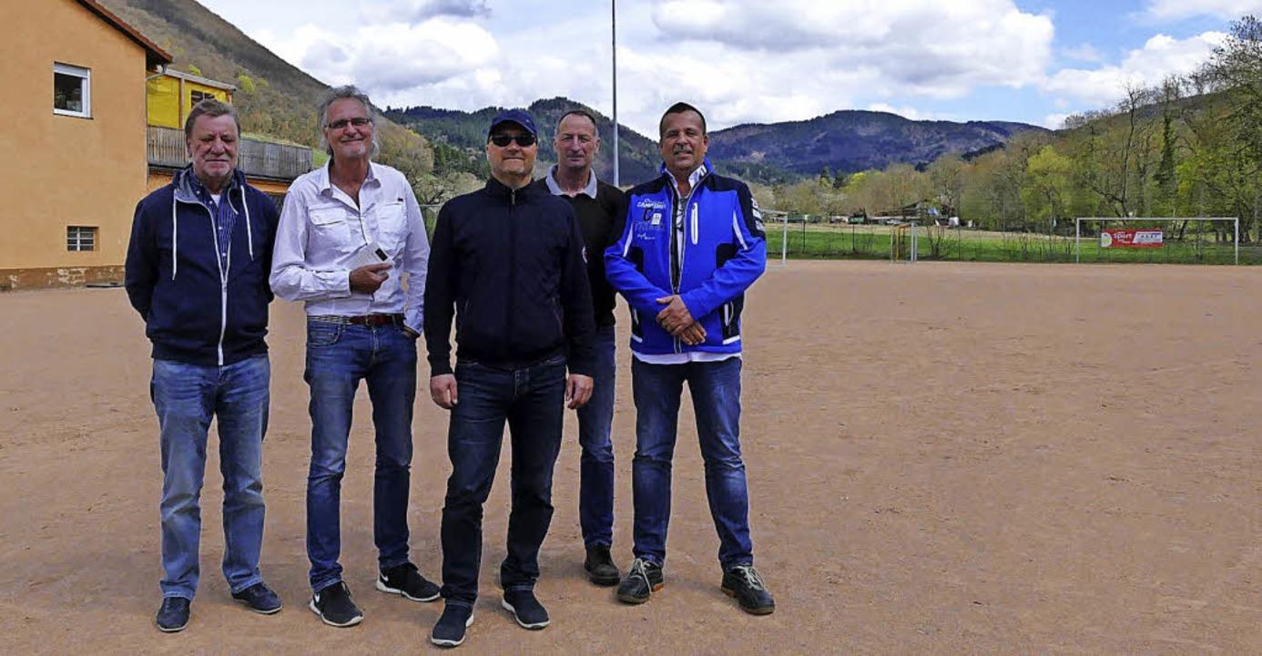 Setzen sich ein für den SV Weilertal (... Brunn, Thomas Ziebold, Holger Prügel   | Foto: Helena Hiss