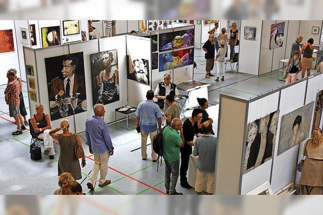 Beliebtes Forum für die Kunst