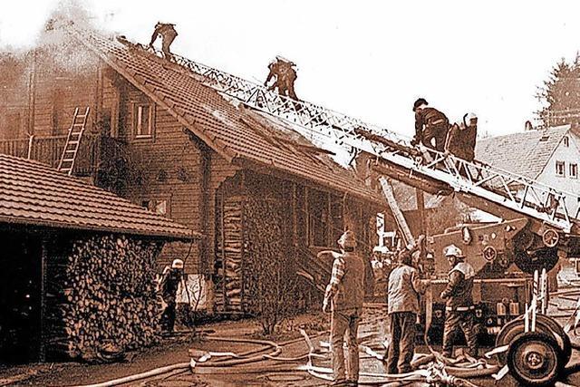 Militärischer Drill für die Hasler Feuerwehr