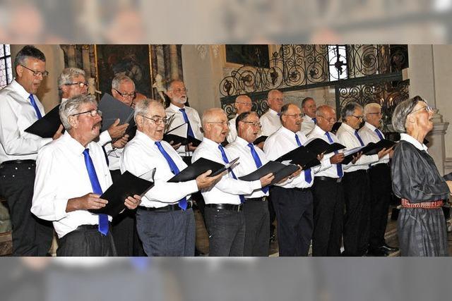 Jubiläumschor bietet tolles Konzert