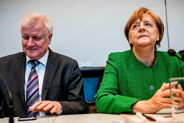 Merkel musste Seehofer bremsen