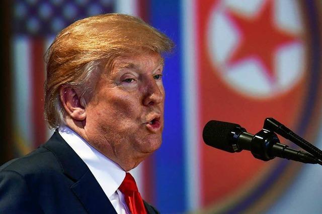 Trump stellt Ende des Korea-Kriegs in Aussicht – Sanktionen enden vorerst nicht