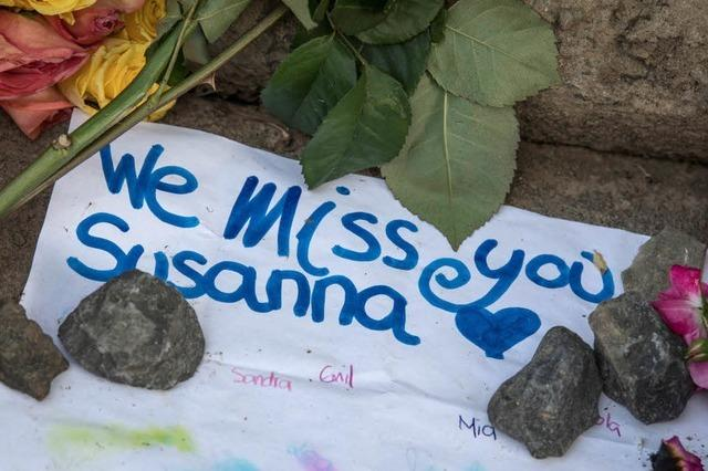 Mordfall Susanna: Die Tat ist heimtückisch, wer immer sie beging