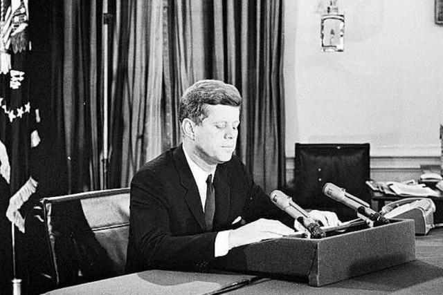 John F. Kennedys Mythos überstrahlt auch die Schattenseiten