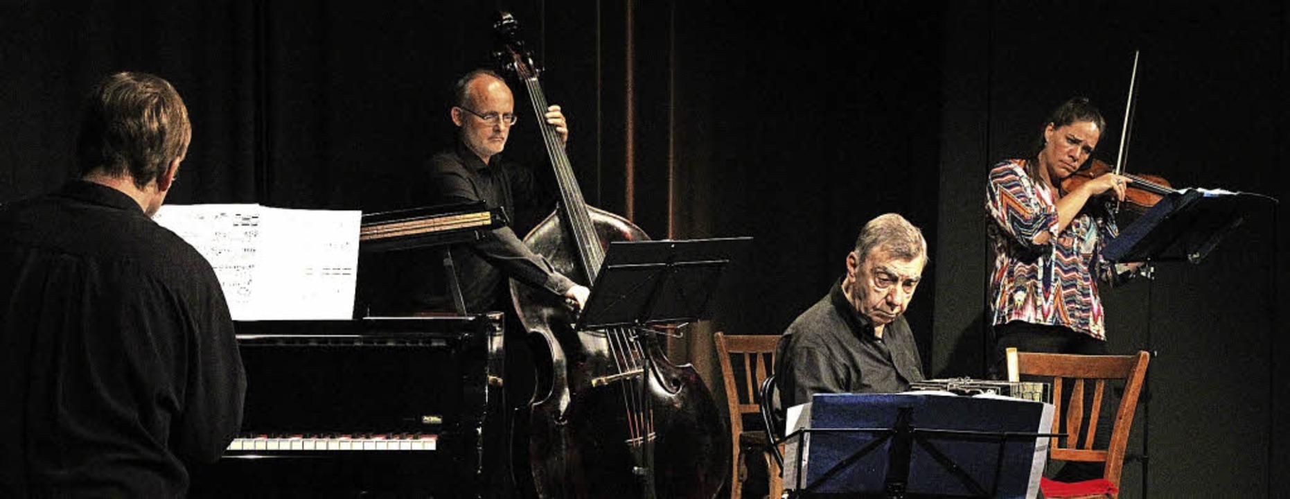 """Argentinischer Tango in der Riegeler K...em """"Cuarteto Buenos Aires""""    Foto: Dagmar Barber"""