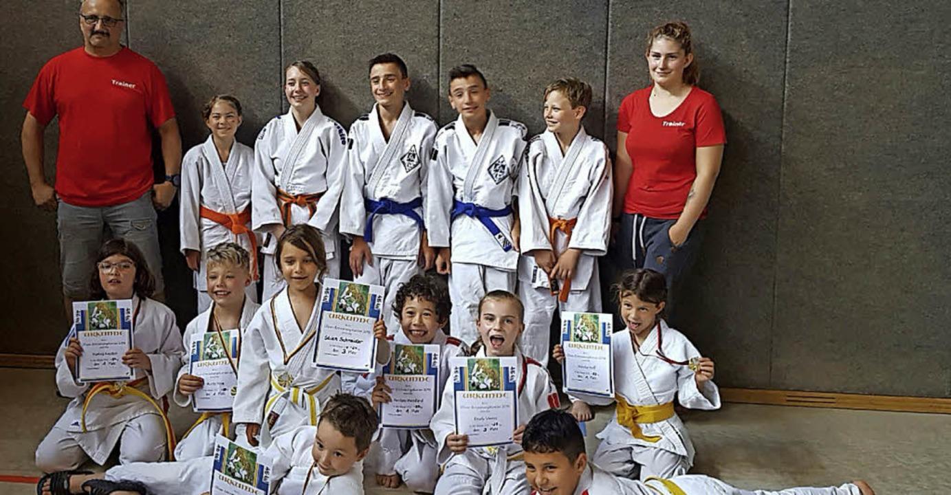 <BZ-FotoAnlauf>Judoclub Grenzach:</BZ-FotoAnlauf> Erfolgreiche Judokas   | Foto: Elke Günter