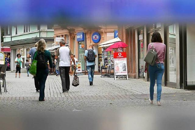 Studie zur Lahrer Innenstadt: Gute Noten und Nachholbedarf