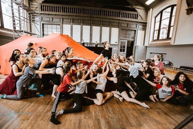 Christina Plötze über das Tanzprojekt