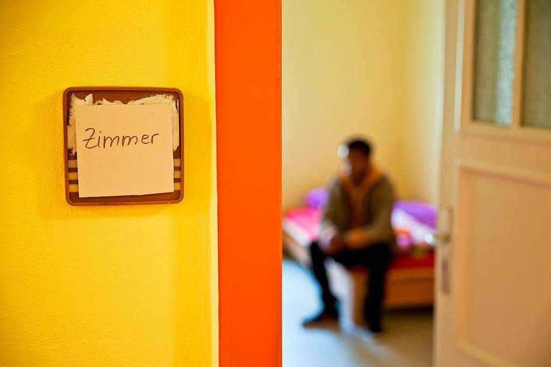 Werden in Heidelberg  registriert – minderjährige  Flüchtlinge.  | Foto: DPA
