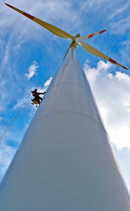 Flaute beim WIndkraft-Ausbau in Baden-Württemberg  | Foto: Patrick Pleul
