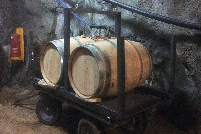 Das Weingut Schweizer lagert edle Rotweine im Schauinsland