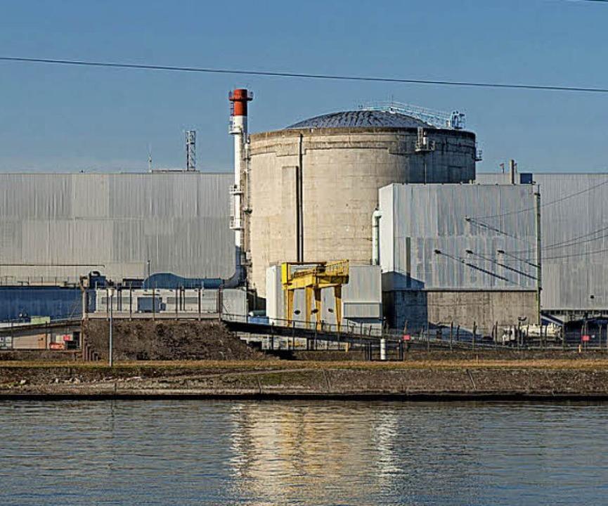 Das Atomkraftwerk im elsässischen Fessenheim  | Foto: DPA