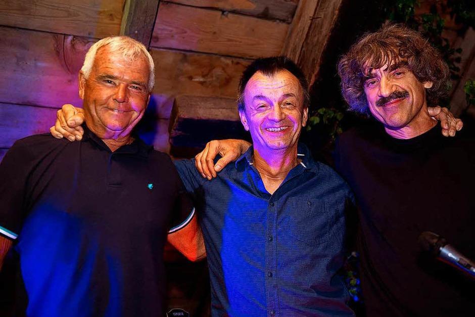 Die Boogie Connection spielte  Blues, Boogie und Rockn`Roll  in Felix Scheune beim Hochschwarzwälder Jazz Sommers. (Foto: Wolfgang Scheu)