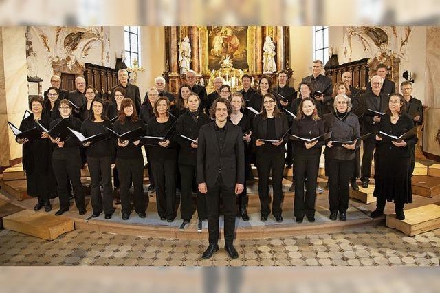 Freiburger Kammerchor singt Bachs Messe h-Moll