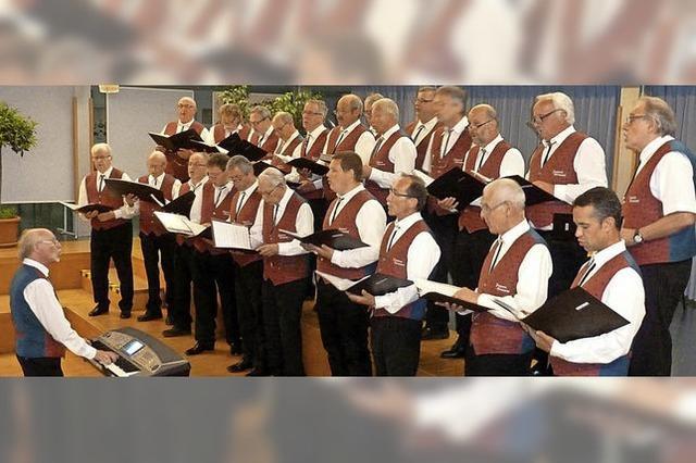Sänger aus Vorarlberg zu Gast