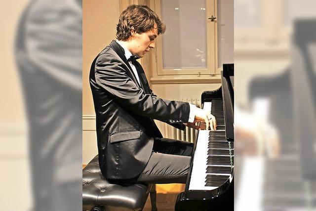 Ein neuer Stern strahlt am Pianistenhimmel