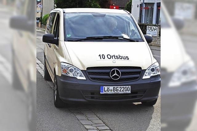 Ortsbus 10 lässt noch Wünsche offen