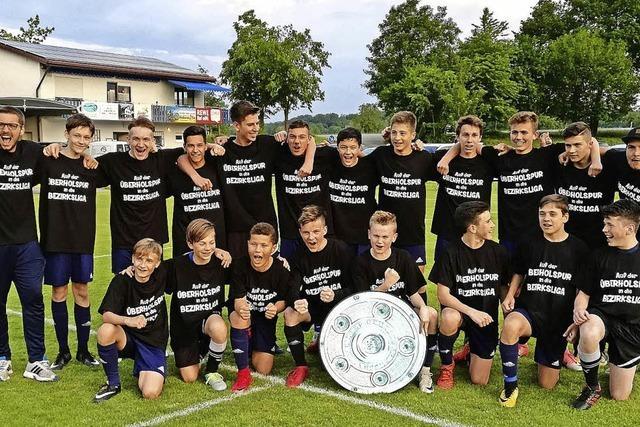 C-Junioren steigen in die Bezirksliga auf
