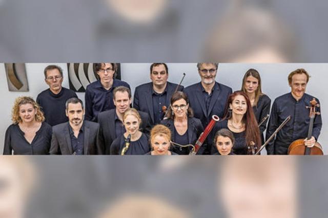 Das Bläsersextett der Freiburger Holst-Sinfonietta präsentiert sein Programm