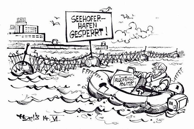 Flüchtlingsdrama vor der Unionsküste