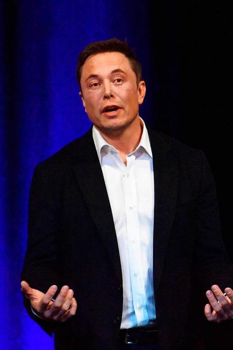 Hat mehr versprochen, als er liefern konnte: Elon Musk.  | Foto: DPA