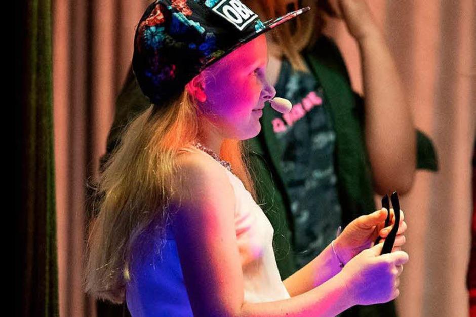 Das große Finale im Teenidol - Wettbewerb (Foto: Wolfgang Scheu)
