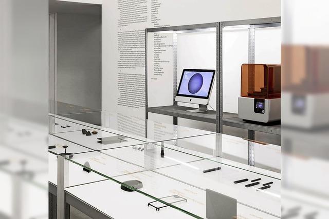 Digitale Fertigung als industrielles Produkt im Vitra Schaudepot in Weil am Rhein