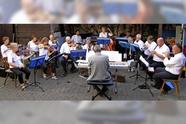 Salonorchester in Waldkirch