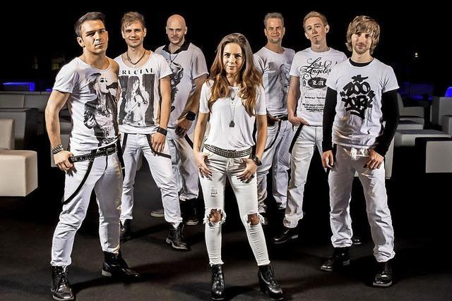 Cover- und Partyband Friends bei Rock am Weinberg in Oberkirch-Bottenau