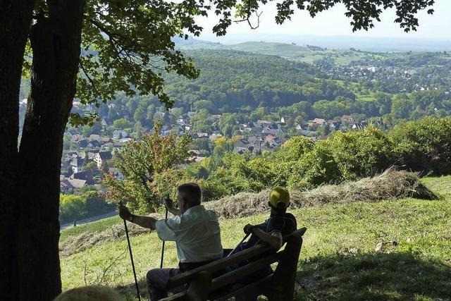 Über die Himmelswiese, Schwärze nach Badenweiler