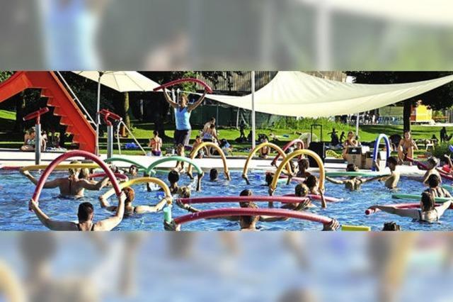 Sportlich im Wasser