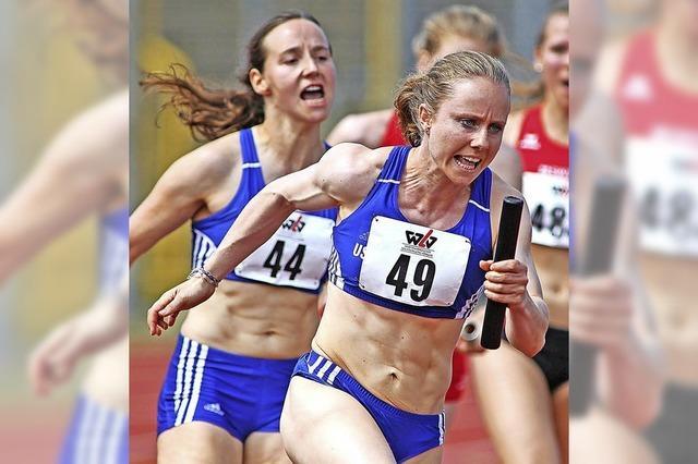 USC sprintet zu Silber