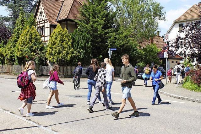 Jugendparlament will Zebrastreifen
