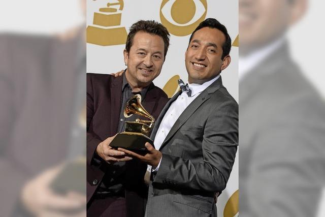 Grammy-Gewinner auf Heimatbesuch